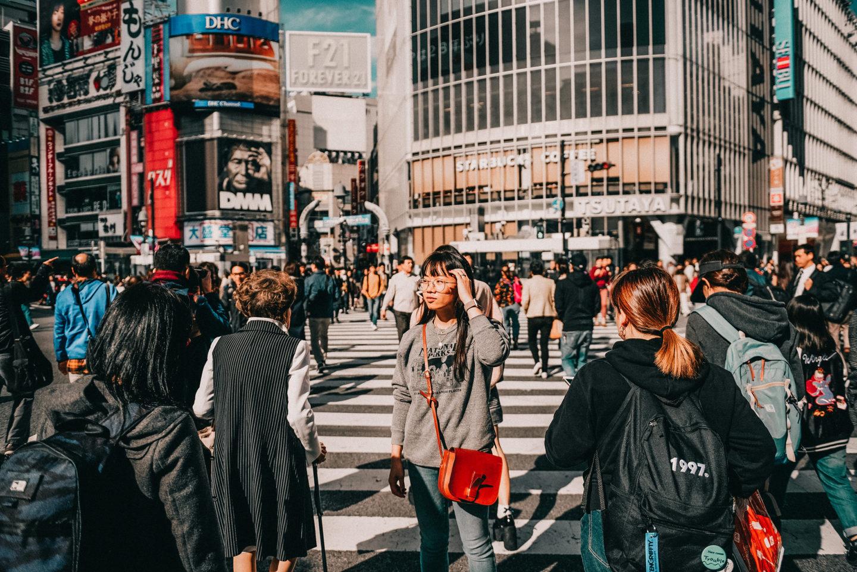 tokyo itinerary shibuya crossing