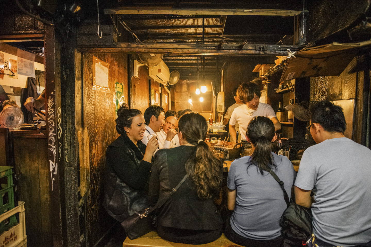 tokyo itinerary piss alley